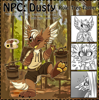 NPC: Dusty by Wyngrew