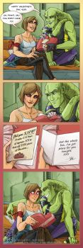 Happy Val'entines by Quarter-Virus
