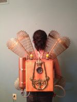 Steampunk Dragonfly Jet Pack by Macabre151