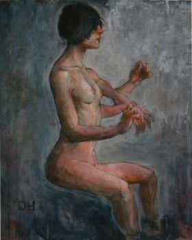 seated figure by dhayman85