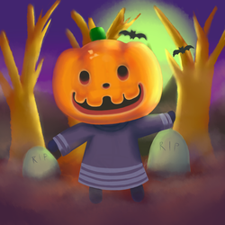 Jack the Pumpkin by buckatone