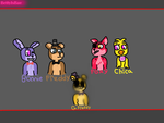Five Nights At Freddy's Crew by BettyIsBae