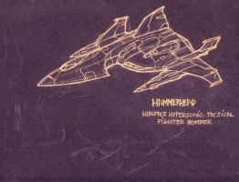 hammerhead fighter bomber by pinoypencilpundit