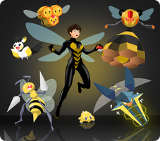 Marvel-Pokemon Crossover: The Wasp