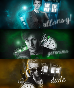 Doctor Who by 1Geronimo1