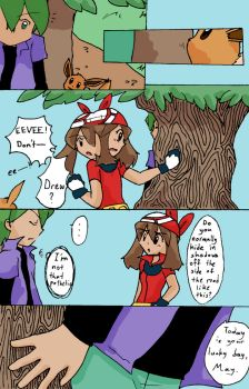 Rose Chronicles Excerpt pg01 by Wolvefire
