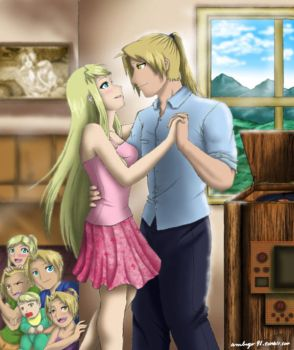 FMA- Dance For a While by amburger91