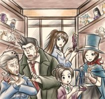 Ace Attorney Modelkit-Shop by Thaumana