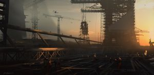 Construction Site #1 by daRoz