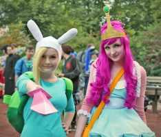 Fionna and PB by MayoInvasion