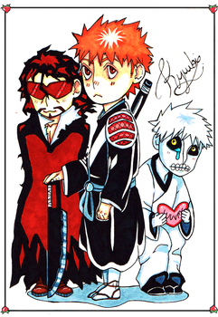 Ichigo copic card. by kyuubi-overrated