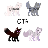 [2/4 OPEN]Canine Adopts! by Crywolf130