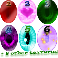 March 2017 Texture Pack [14 Textures!] by StrikingHope