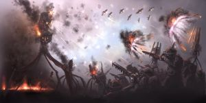 Invasion concept prolonged engament. by BoxofLizards