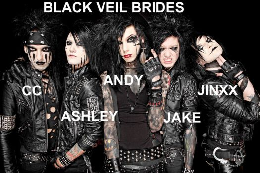 Black Veil Brides Wallpaper by GaaraxHinata6666