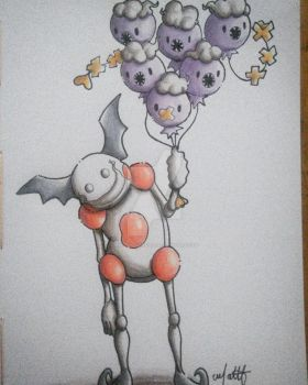 Mr. Mime by Matelsferreira