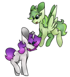 C: Doodle Strike and Chlorine by pegaSAI
