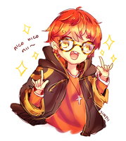 707 goes nico nico nii by Jintii