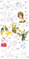 Pchat and others dumpalerpa by EliciaElric