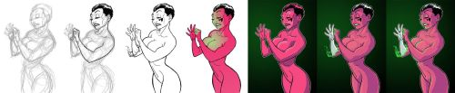 Soranik Natu Art Trade Process by alexzemke