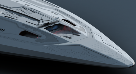 X-308 Progress 01 by Deliciusman