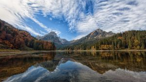 Autum in the Alps by luethy