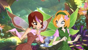 Winx Club screenshot redraw by Bloom2