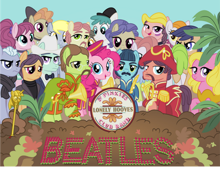 Sgt. Pinkie's Lonely Hooves Club Band by GeometryMathAlgebra