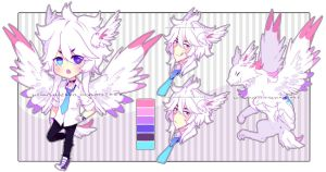 [Auction] Albino Sky- closed //thank u! by Neon-Hazard