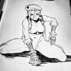 Cammy sketch by SANEFOX
