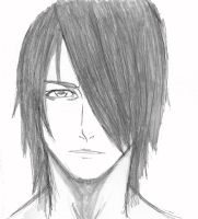 Its a drawing of me by Okami-no-Chi