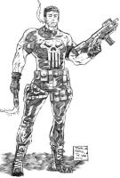 Punisher by jorcerca