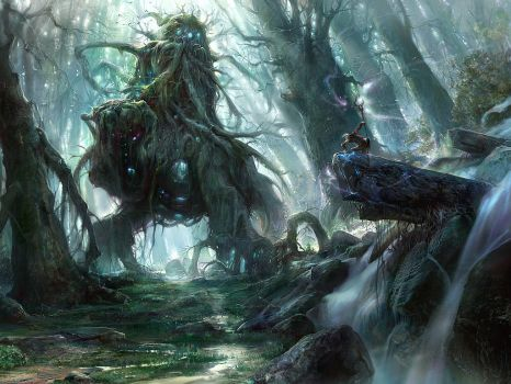God of the forest by noah-kh