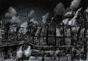 The Domed City by butterfrog