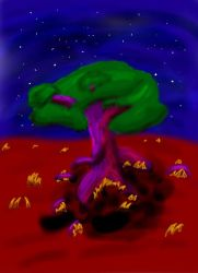 Solo Tree by Hipper-Reed