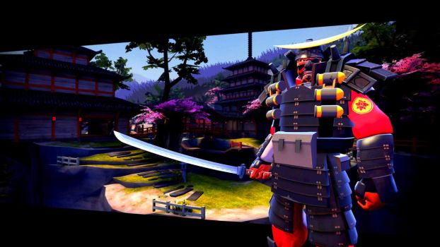 Samurai from Suijin by Qwerty-Cody