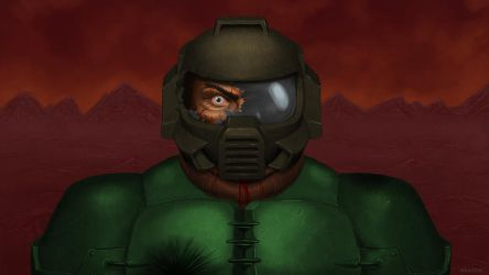 Doomguy's Madness by Kracov