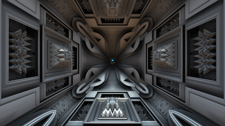FRACTAL GALLERY - MENGER CONTEST by Transistor1