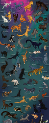 Warriors: Cats from sagas 1-2 by Korrenraa