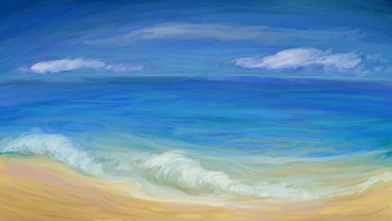 Seascape by NicolaCola