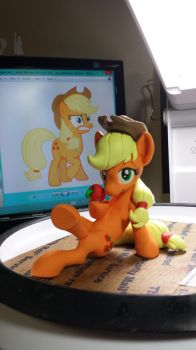 WiP: Apples~ by dustysculptures