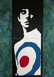 Keith Moon by DeanSidwellArt