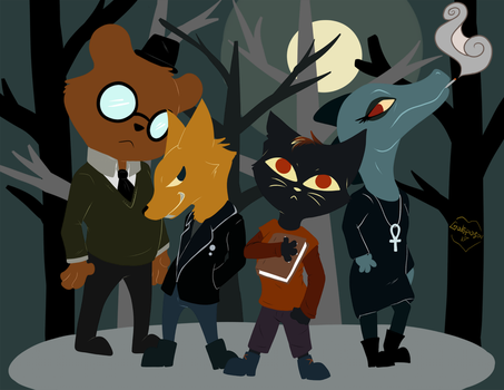 -Night In The Woods- by Godspoison