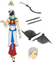 Bleach OC: Kuja by Mind-Like-A-Puzzle