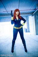 Black Widow Cosplay by plu-moon