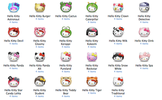 Hello Kitty Bumperpack by Pinky-von-Pout
