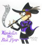 Wendelin the Pied Piper by komi114