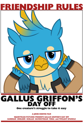 Gallus Griffon's Day Off by masemj