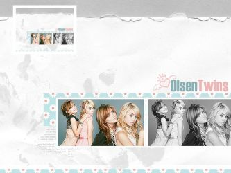 Olsen Twins Collage by xVanillaSky