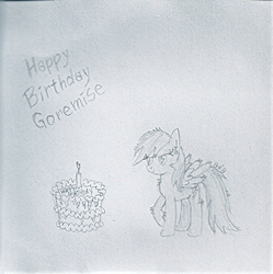 HappyBirthdayGorem by addax12345
